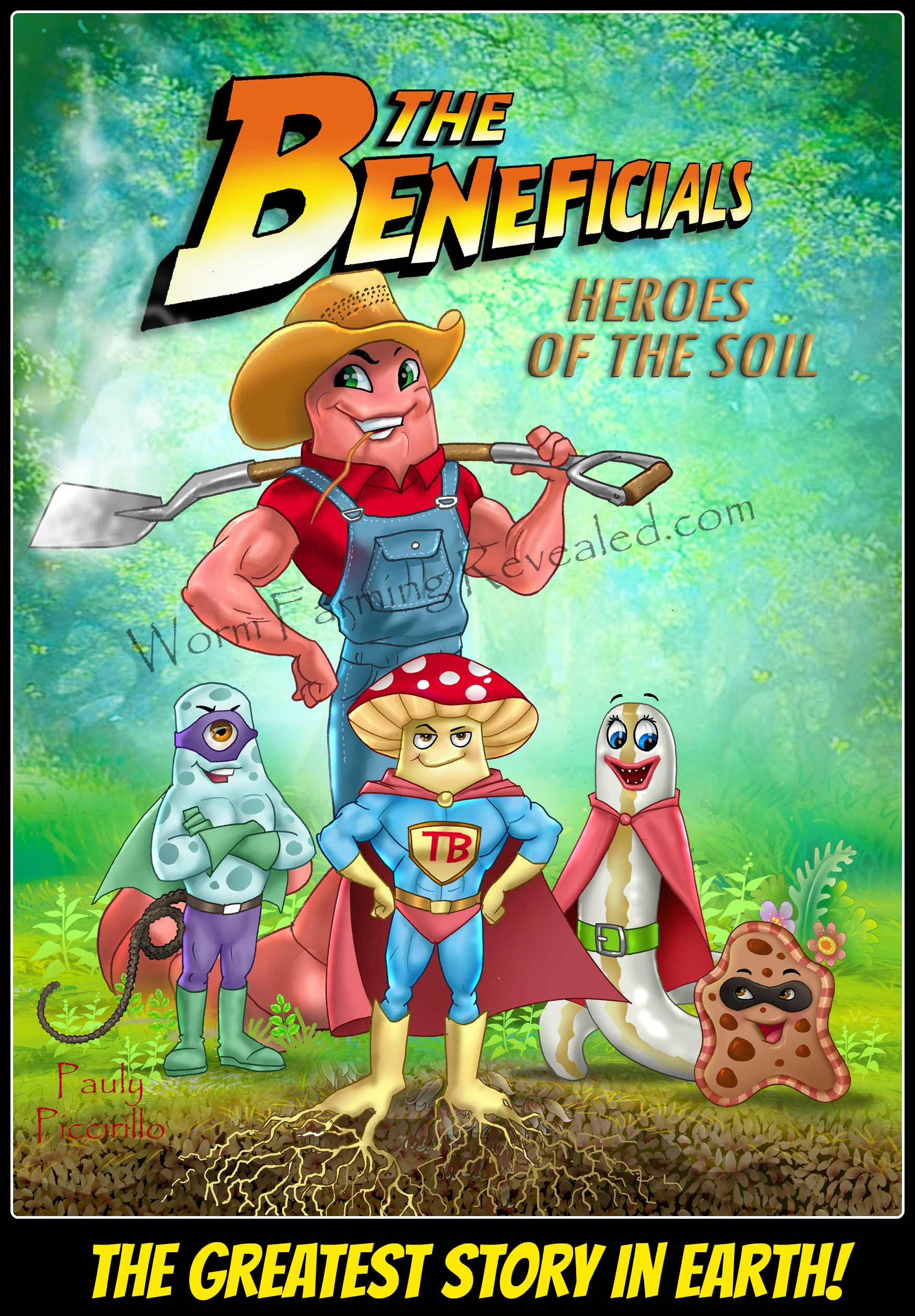 The Beneficials - Heroes of the Soil