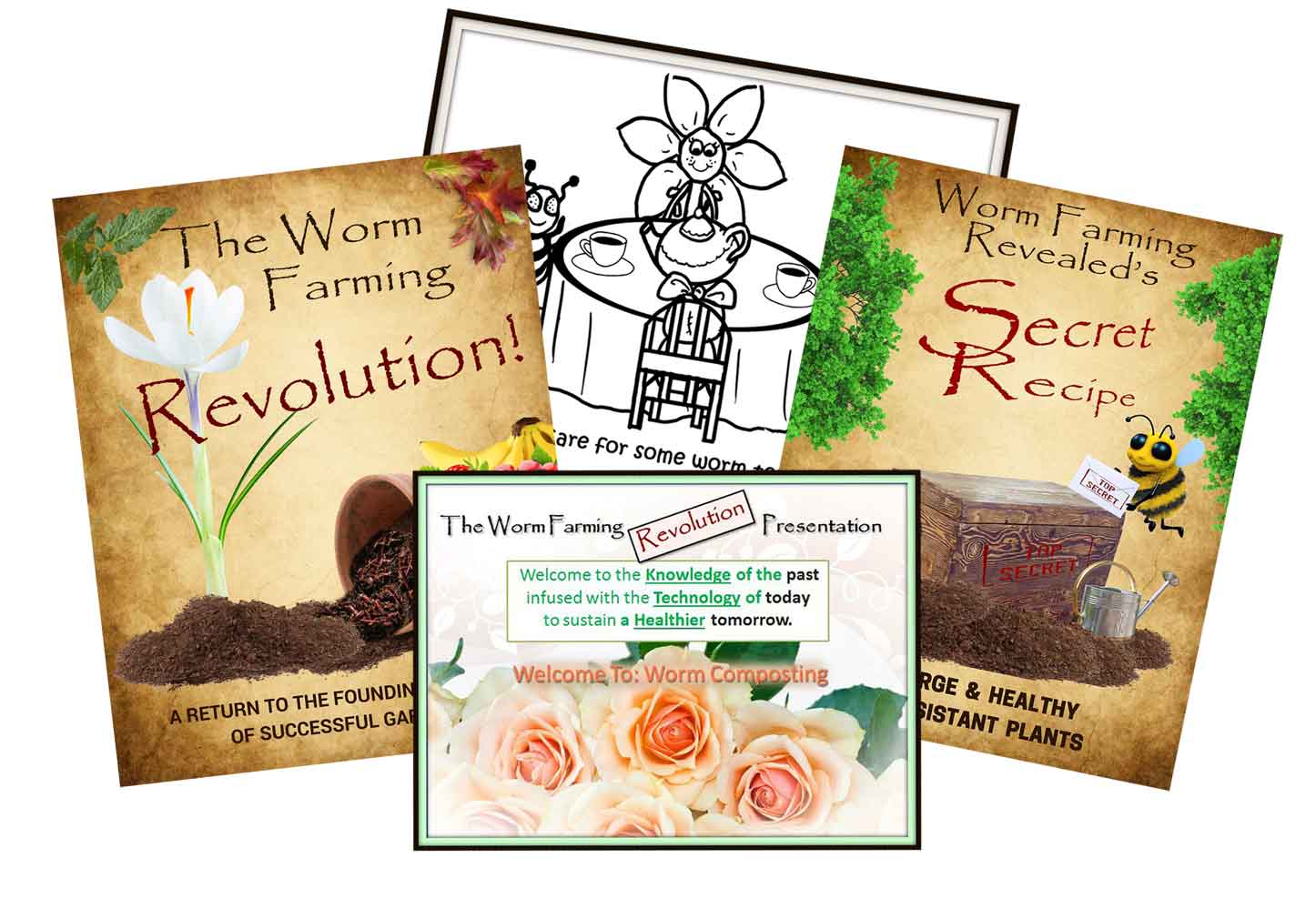 Worm Farming Books