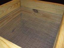 Wooden Worm Bin