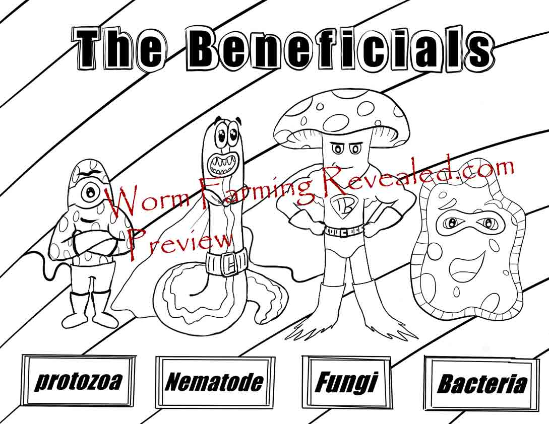 The Beneficials Coloring Page