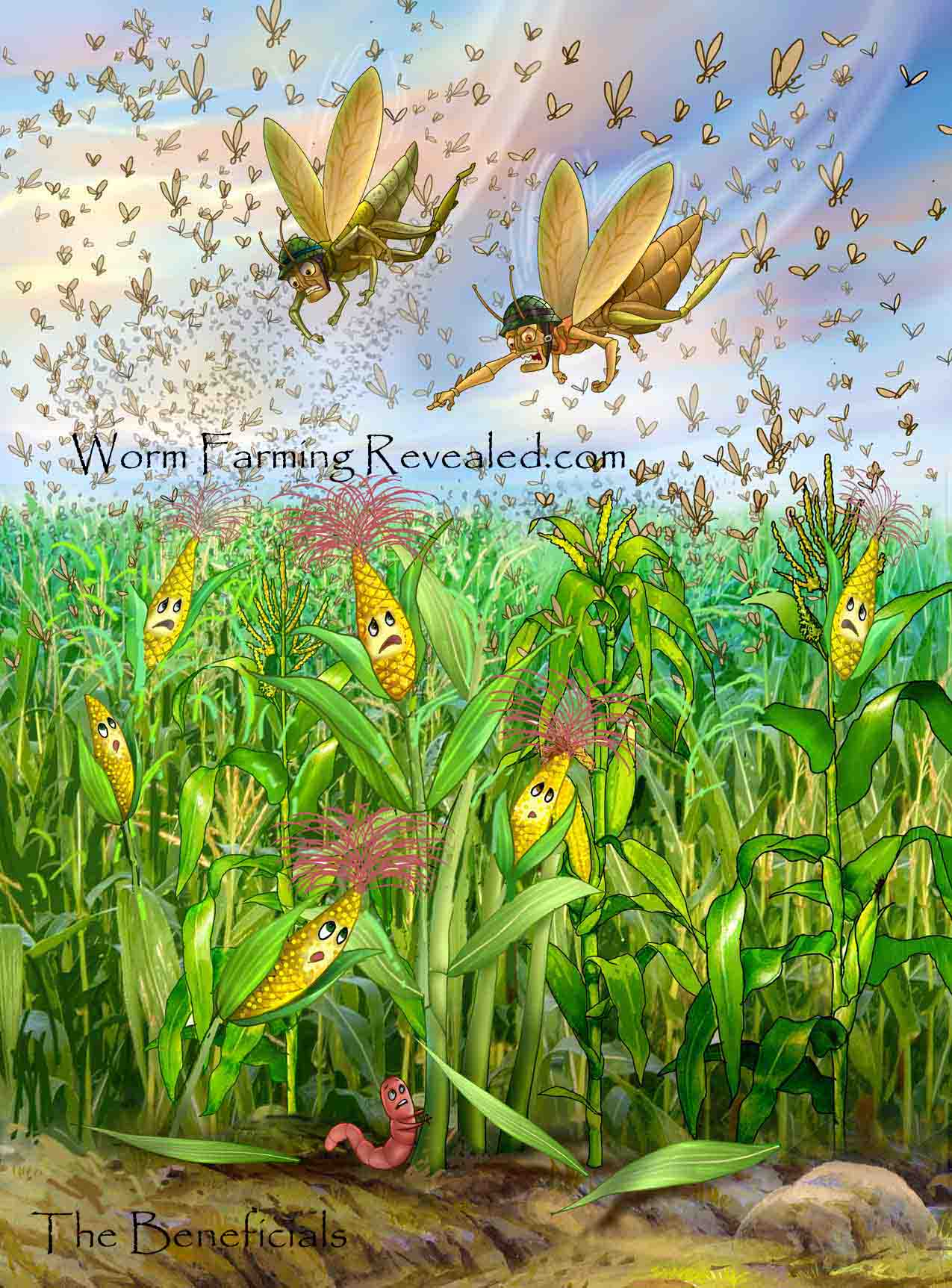The Beneficials - Epic Invasion of Hungry Pests