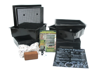 Worm Factory Instructions and Pieces