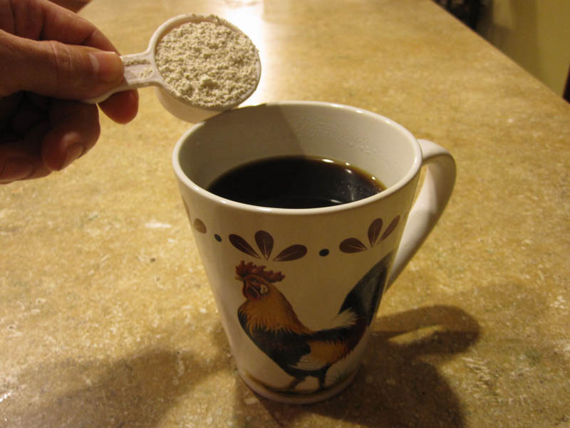 Diatomaceous Earth in drinks