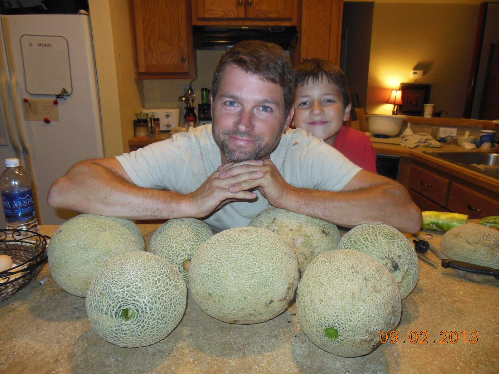 Last cantaloupe harvest of 2013